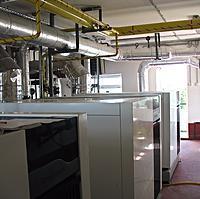 Создание системы вентиляции и воздушного отопления цехов №2 и №3 завода Андромеда